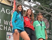 Laia Gonfaus recoge el oro cadete Campeona del Mundo del KV @fedme_es