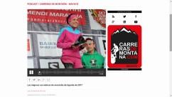Corredoras de montaña top 6 ranking españa 2017 mayayo radiotrail