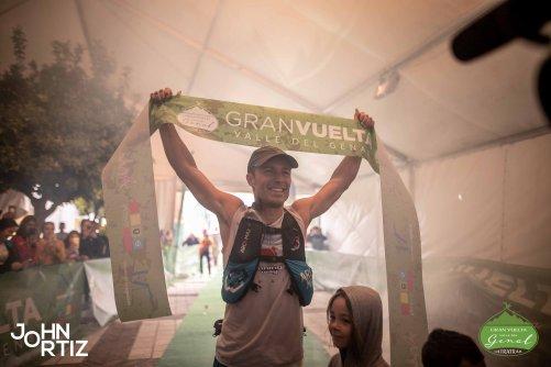 dani garcia gana 100 millas ultra gran vuelta valle del genal 2018