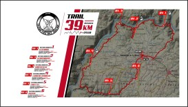 secretos del duero 2019 mapa carreras de montaña 39kkm