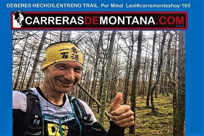 #corremonteshoy 165 entrenamiento trail y los deberes hechos