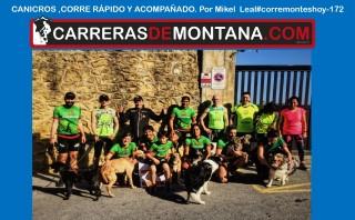 #corremonteshoy 172 canicross