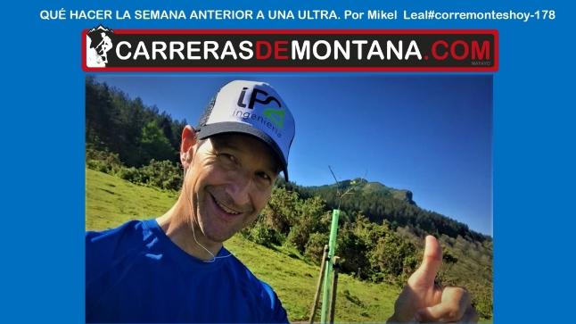 entrenamiento trail la semana previa a un ultra #corremonteshoy
