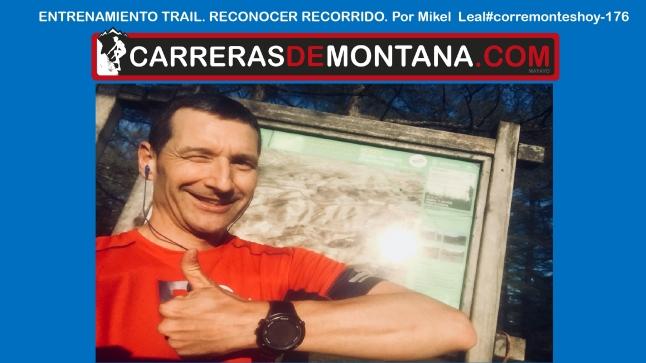 entrenamiento trail reconocimiento recorrido