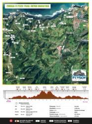 Zumaia Flysch trail 2019 mapa maraton