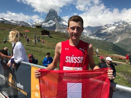 remi bonnet cuarto campeonato europeo mountain running 2019 zermatt