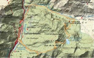 rutas trail pirineos ascension la moleta desde canfranc carreras de montaña (14)
