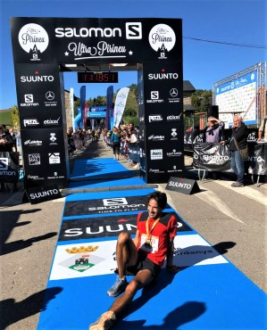 Andre Rodrigues gana trail pirineu 2019